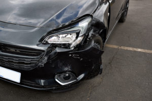 car damage from a drunk driving accident